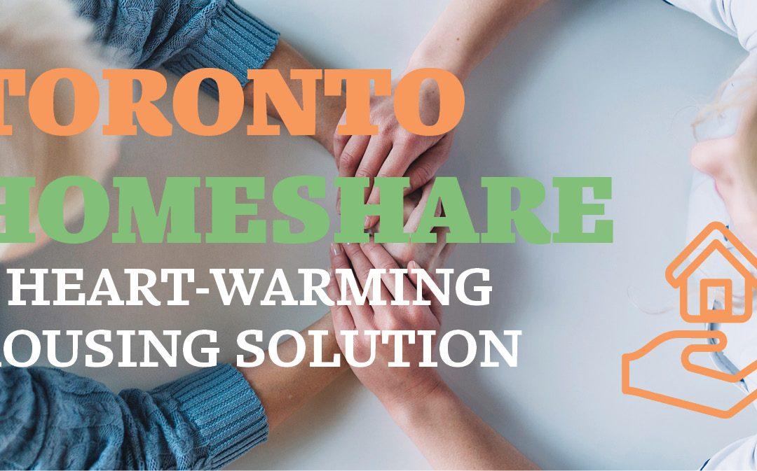 Toronto HomeShare a Heart-Warming Housing Solution