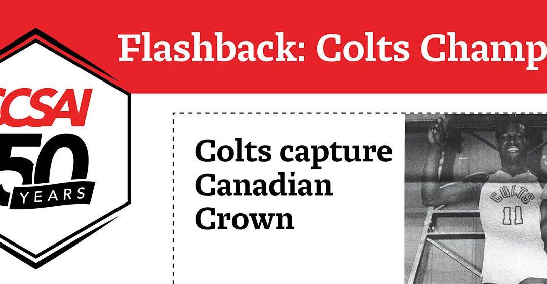 Flashback: Colts Champs